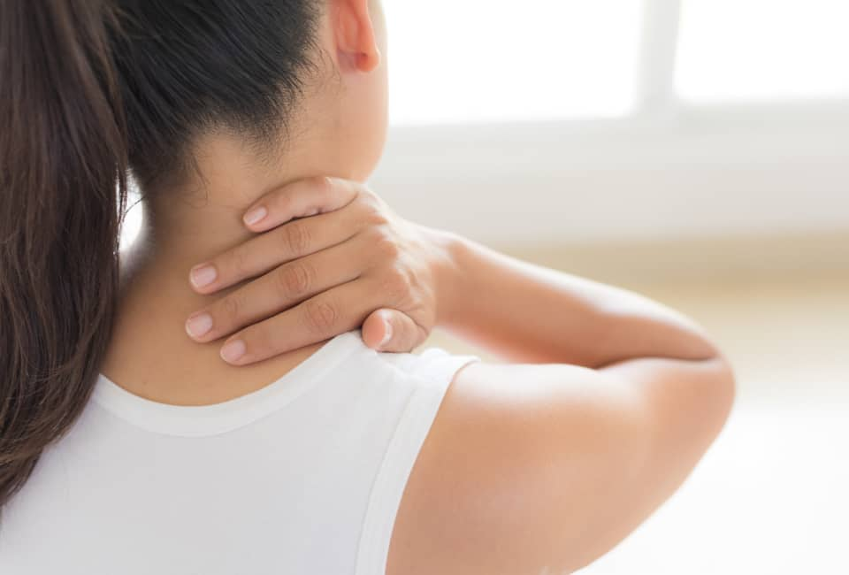 douleur au cou et torticolis